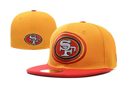 San Francisco 49ers Fitted Hat LX 150227 05